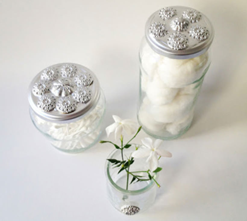 Decorate Your Jars Lids 2