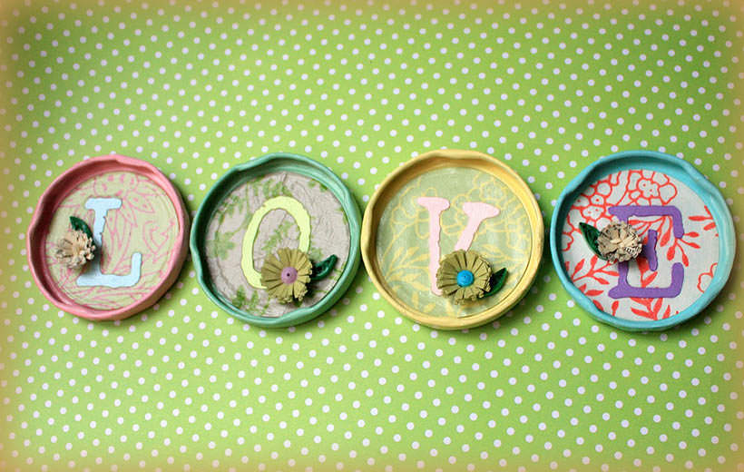 Decorate Your Jars Lids 6
